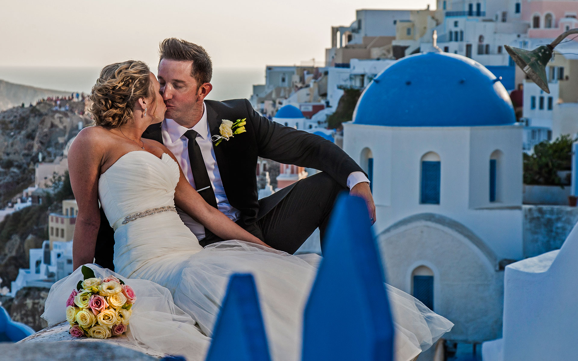 Santorini wedding photography & video