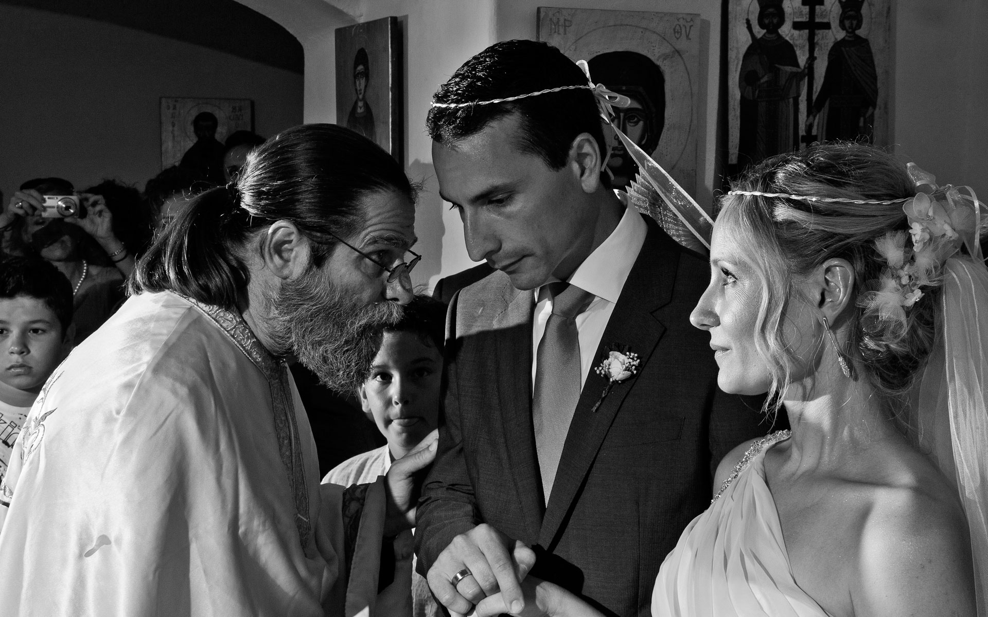 wedding photography 2012 Ceremony  at  Paros