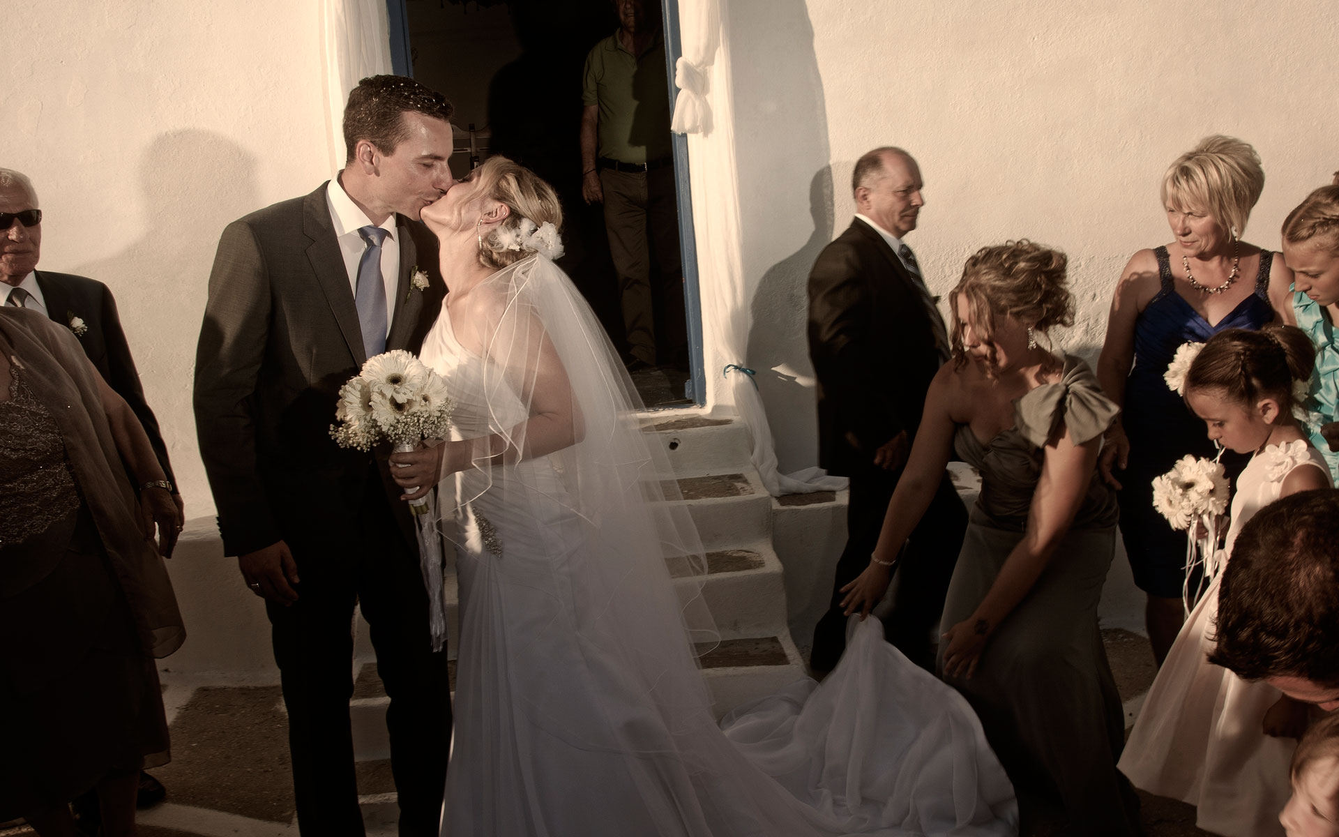 wedding photogrgaphy 2012  location Paros