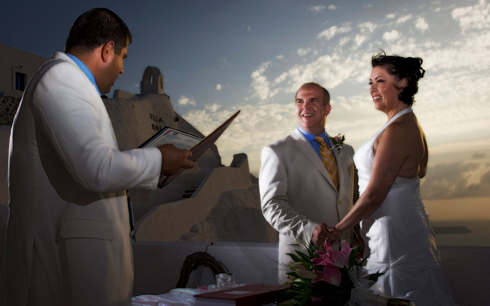 santorini wedding photography and video