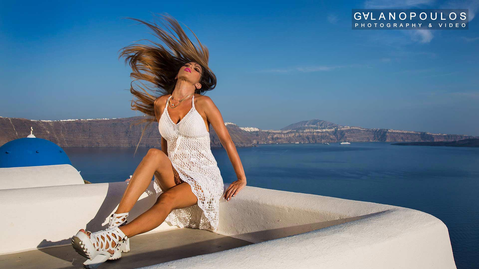 Santorini  fashion photography